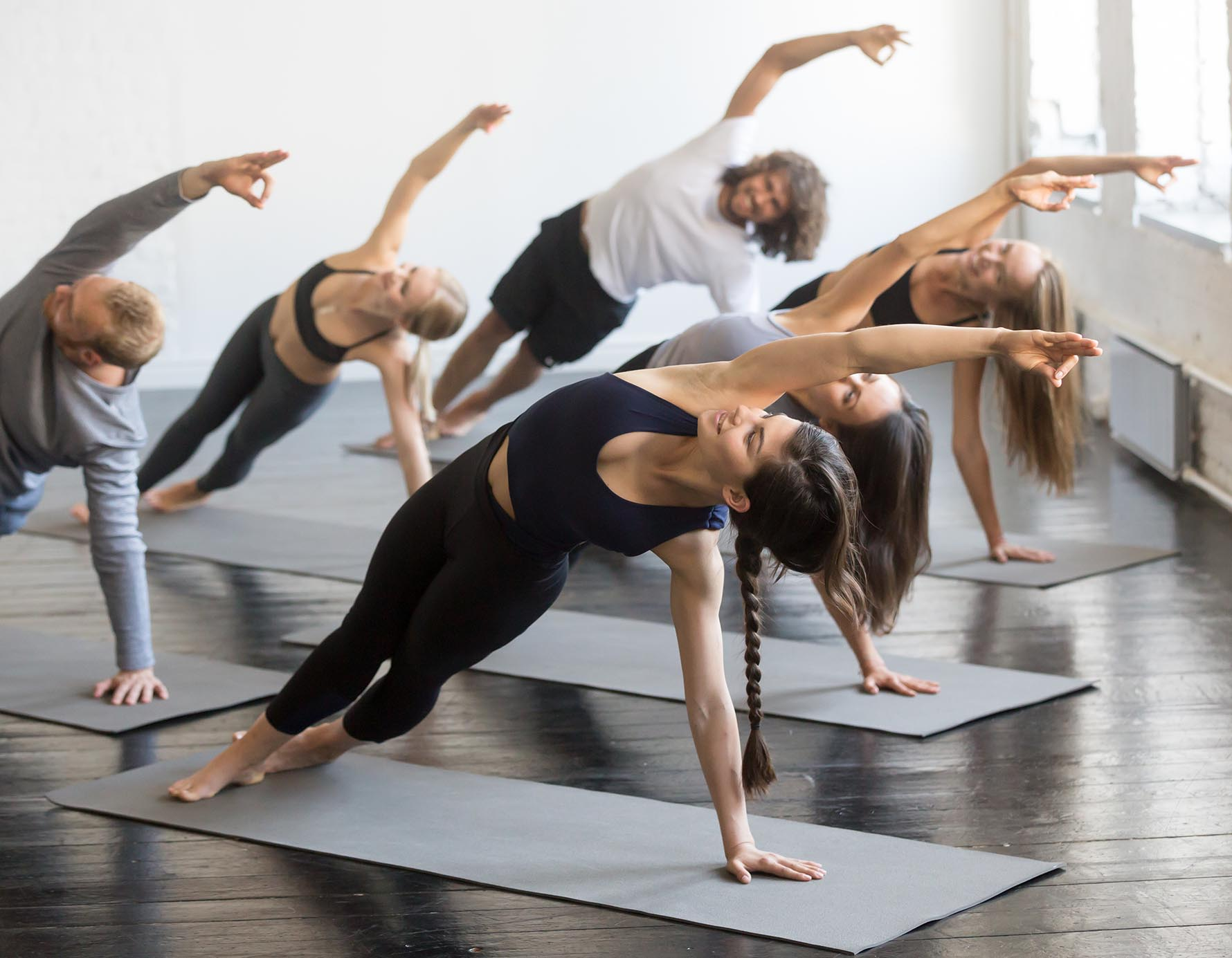 Dynamic Stability Group Fitness Pilates